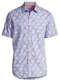 Robert Graham Men's Haas Abstract Print Sport Shirt