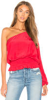 Ramy Brook Janey Top in Red. - size L (also in M,S,XS)