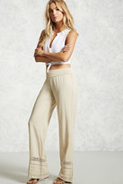 Forever 21 FOREVER 21+ Tiered Crochet Pants