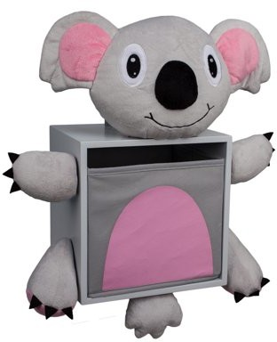 Danya B. Plush Koala Bear Kids Wall Storage Bin