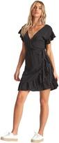 Billabong Ruffle Wrap Dress