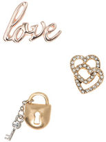lonna & lilly Love Themed Pins- Set of 3