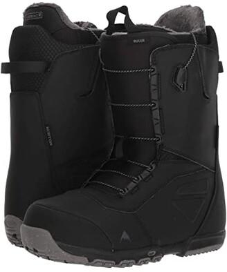 Burton Ruler Snowboard Boot (Black) Men's Cold Weather Boots
