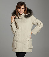 Vince Camuto Faux-Fur-Trim Hooded Jacket
