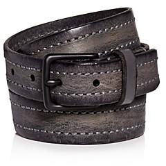 AllSaints Men's Distressed Leather Belt