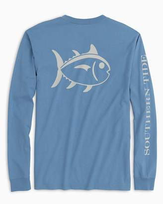 Southern Tide Long Sleeve Outline Skipjack T-Shirt