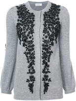 Co embellished floral cardigan