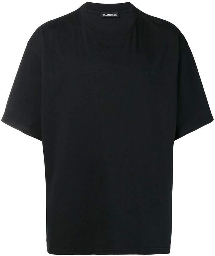 Balenciaga oversized short sleeve T-shirt