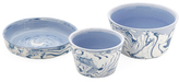 Global Views Small Richmond Serving Bowls (Set of 3)