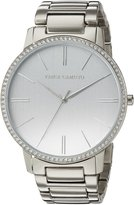 Vince Camuto Women's Quartz Stainless Steel Dress Watch, Color:-Toned (Model: VC/5329SVSV)