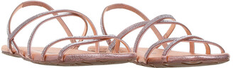 Pedro Garcia Sandal With Strass In Powder Leather