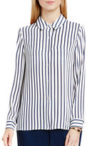 Vince Camuto Petite Cargo Stripe Blouse