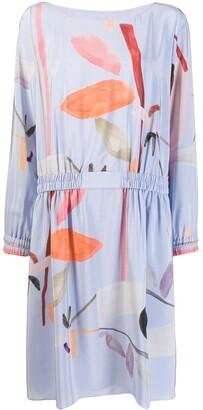 Emporio Armani Printed Shift Dress