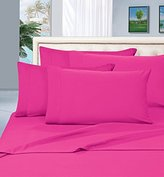 Elegant Comfort #1 Rated Best Seller Luxurious Bed Sheets Set on Amazon! 1500 Thread Count Wrinkle,Fade and Stain Resistant 4-Piece Bed Sheet set, Deep Pocket, HypoAllergenic - Queen Hot Pink