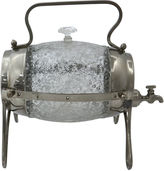 One Kings Lane Vintage English Art Deco Glass Brandy Barrel