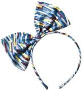 No Added Sugar Multi Striped Large Bow Headband