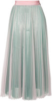 MSGM pleated midi skirt - women - Polyester - 40
