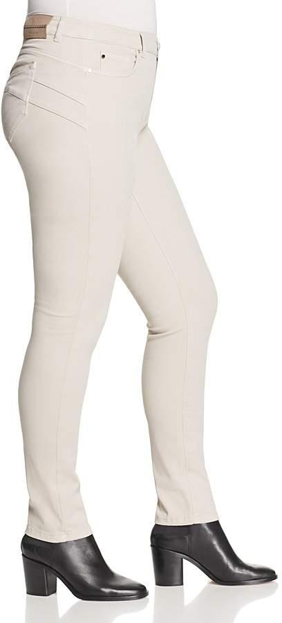 Marina Rinaldi Radura Super Stretch Jeans in Light Gray
