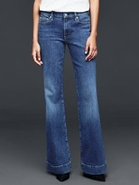 Gap 1969 Medium Indigo Authentic Flare Jeans