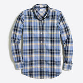 J.Crew Factory Lightweight homespun shirt in boy fit