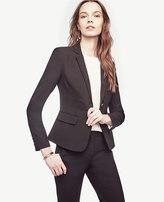Ann Taylor Tall Seasonless Stretch Two Button Jacket