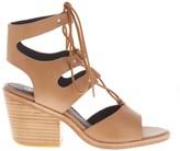 Sole Society Hazel Heel Lace Up Sandal