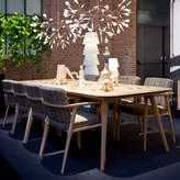 Moooi Zio Dining Table - Large - Wood Stained White Washed