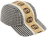Gucci Travor Houndstooth Hat