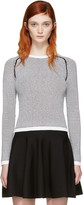 Carven Black & White Knit Sweater