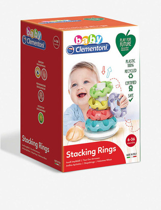 Play For Future Stacking Rings recycled-plastic toy 15cm x 24cm