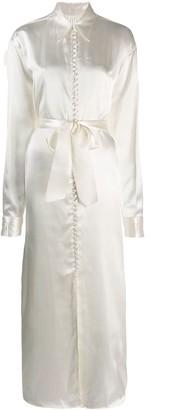 MM6 MAISON MARGIELA button shirt dress