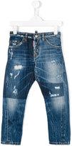 DSQUARED2 Kenny Twist distressed jeans - kids - Cotton - 4 yrs
