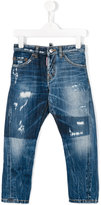 DSQUARED2 Kenny Twist distressed jeans - kids - Cotton - 6 yrs