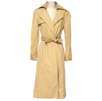 Patrizia Pepe Beige Trench Coat for Women Vintage