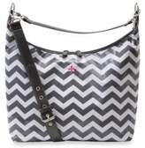 JP Lizzy Glazed Hobo Diaper Bag in Chevron