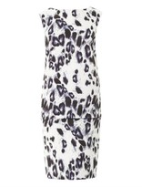 Camilla And Marc Primary Key leopard-print dress