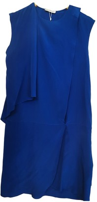 CNC Costume National Blue Silk Dress for Women