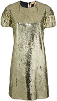 No.21 sequin embellished T-shirt dress - women - Silk/Polyester - 38