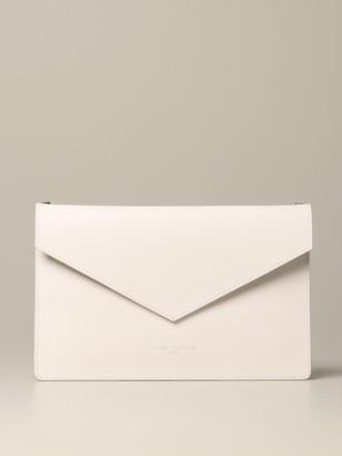 Lancaster Paris Envelope Pouch In Leather