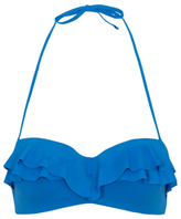 George Frill Trim Bikini Top