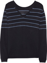 Tibi Nautica striped knitted sweater