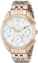 Tommy Hilfiger Women's 1781487 Analog Display Quartz Rose Watch