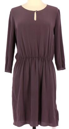 Hartford Purple Silk Dress for Women
