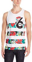 Young & Reckless Men's Striped Killas Tank Top
