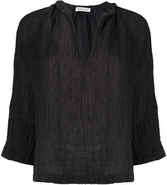 Masscob v-neck loose-fit tunic