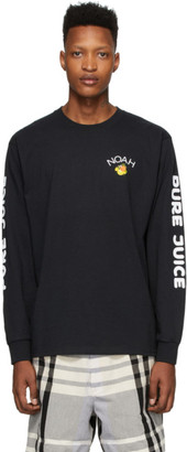 Noah NYC Black Pure Juice Long Sleeve T-Shirt