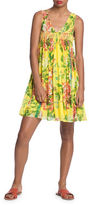 Plenty by Tracy Reese Smocked Flyaway Dress