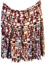 Escada White Silk Skirt for Women