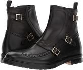 Alexander McQueen Florence 3 Buckle Monk Strap Boot Men's Boots