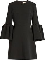 Roksanda Hadari bell-sleeved cady dress